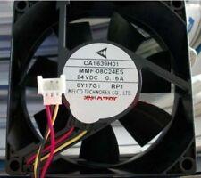 MITSUBISHI CA1639H01 MMF-08C24ES-RP1 80x25mm Fan 24V 0.16A  649-1