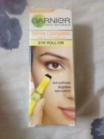 2 X Garnier White Complete Eye Roll On Roller Dark Circle Remover, 15ml
