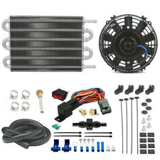 Truck Engine Transmission Oil Cooler Fan An6 6An In-Line Thermostat Switch Kit