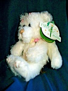 "First & Main Angel Huggums Plush #1302 7"" Stuffed Animal Toy"