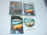 NEED FOR SPEED: HOT PURSUIT 2 game complete in case w/ Manual for MICROSOFT XBOX