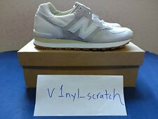 END. x New Balance 575 Carrara Marble White size 10 Made in England DEADSTOCK!!