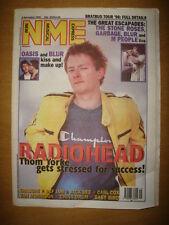 NME 1995 DECEMBER 9 RADIOHEAD BLUR OASIS STONE ROSES GARBAGE