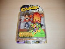 Jet Board Crash Bandicoot Action Figure Brand New Factory Sealed Resaurus Series