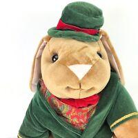 "Vtg Toys R Us Rabbit Ears Productions Plush Stuffed Animal Toy Rabbit 14"" Suit"