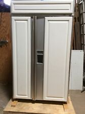 Sub-Zero Refrigerator 690/F Ser. No. 1475944 Side by Side Custom Panel Feb 1999