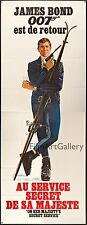 ON HER MAJESTY'S SECRET SERVICE 1969 47x126 poster James Bond 007 filmartgallery