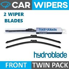 "HYDROBLADE Direct Fit Push Button 24"" & 16"" Flat Windscreen Wiper Blades"
