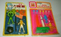 Vintage US SPACE BASE CARDED & CAKE BIRTHDAY PARTY ASTRONAUT MPC SET RARE!