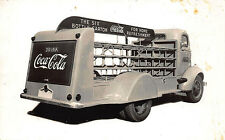 New Delivery Truck Delivered to Statesville Nc Coca-Cola Bottling Co Rp Postcard