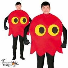 Disfraces unisex color principal rojo de poliéster talla L