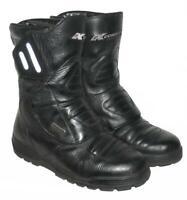 """"""" KOCHMANN """" Motorradstiefel / Stiefel / Biker- Boots in schwarz ca. Gr. 39,5"""