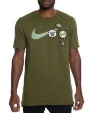 "Nike Sportswear Heavyweight T-Shirt 923381-331 Legion Green Size S Chest 38"" New"