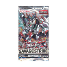 YuGiOh Savage Strike Booster Pack