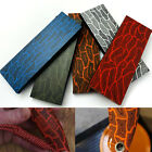 G10 Damascus Turtle Shell Pattern Knife Material Handle Scales Blanks 5mm thick