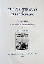 Constantin Guys livre book bibliog article Palais Cristal 1851.
