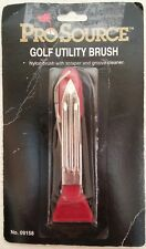 NEW Pro Source Portable Golf Utility Brush - Red W636