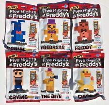 Five Nights At Freddy's 8-Bit Set of 6 Series 2 McFarlane FNAF Buildable Figures