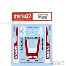 "1/24 1983 Jaguar XJ-S ""Motul"" RAC Tourist Trophy decal set by Studio 27"
