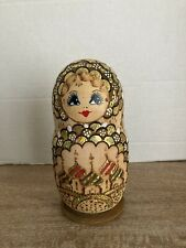 Matryoshka Dolls Nesting Dolls From Russia 5 Pcs. New