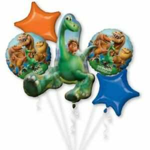 THE GOOD DINOSAUR Foil Bouquet Balloons Kids Birthday Party