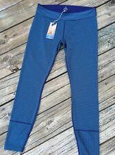 PRANA Sapphire Leggings Sz XL Indigo Stripe