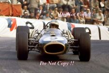 Denis Hulme Brabham BT20 Vainqueur Grand Prix de Monaco 1967 PHOTO 5