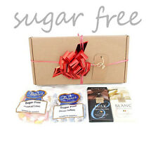 Sugar Free Assorted Chocolate & Traditional Sweet Hamper Box Diabetic 4 x ITEMS