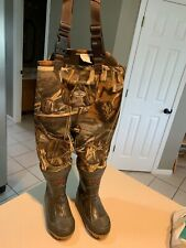 PRO LINE Youth Camo Insulated 660 Grams Waist High Waders Size 11