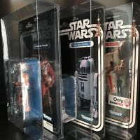 "NEW Star Wars Hasbro 40th Anniversary 6 Inch Figure Protective ""Deflector Case"""