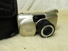 OLYMPUS Stylus Zoom 115 DLX deluxe 35mm Film Camera & Case