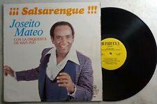 Joseito Mateo Salsarengue Orquesta de Rafi Pou QUISQUEYA LPQ-36 LP VG LP#1207