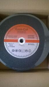 CUTTING DISCS 300mm X 3.2 X 20MM METAL EURO CUT PACK OF 10 DATE CODE 2023