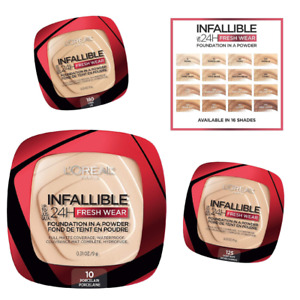 Loreal Infallible 24Hr Fresh Wear Foundation In A Powder Matte Waterproof PICK 1