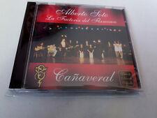 """ALBERTO SOTO LA FACTORIA DEL FLAMENCO """"CAÑAVERAL"""" CD 7 TRACKS COMO NUEVO"""