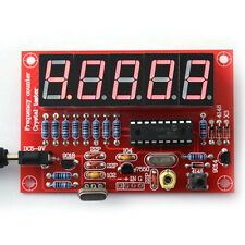 1Hz-50MHz Top Oscillator Frequency Counter Meter Digital 5-LED Tube PIC DIY Kits