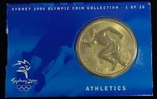 2000 $5 Australia Sydney Olympic Collection Proof-Like Coin Athletics # 1 of 28