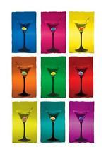 Vasos de Martini-Maxi Poster 61cmx91.5cm (nuevo Y Sellado)