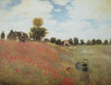Claude Monet, Poppyfield - Fine Art Landscape Print 50x70cm