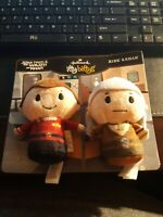 Hallmark Itty Bittys Bitty Star Trek II Wrath Khan Kirk & Khan Plush New set
