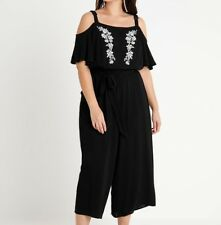 CITY CHIC XS-14  COLD SHOULDER SWEET JUMPSUIT BNWOT  RRP $99.95