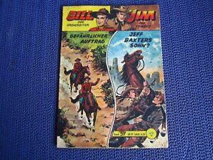 Sergeant Bill / Jim der Cowboy Band 57 / Original Lehning Verlag (Sigurd  Falk )