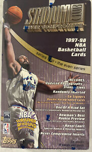 1997-98 Topps Stadium Club Series 2 Basketball Hobby Box 24 Packs Factory Sealed