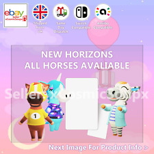 All Horses Animal Crossing Custom NFC Amiibo Compatible Card New Horizons