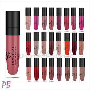 Golden Rose Longstay Liquid Matte Lipstick 39 Shades Matt Long Lasting UK STOCK