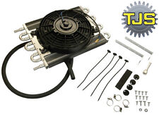 ".NEW 15""X10"" Aluminum Core Low Profile Automatic Transmision Oil Cooler with Fan"