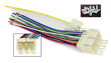 EARLY GM CAR STEREO WIRING HARNESS WIRE AFTERMARKET RADIO CD PLAYER INSTALL PLUG