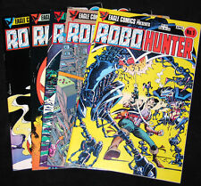 1984 Eagle Comics Series ROBO HUNTER #1-5  (VF+ Copies)