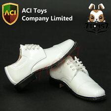 ACI Toys 1/6 744 Dress Shoes_ White _Fashion Now AT013F