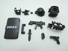 (NO.10-4) custom lego swat police helmet military gun army weapon